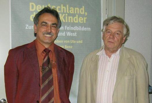 С проф. Вольфгангом Бенцем в Центре изучения антисемитизма. Из личного архива автора