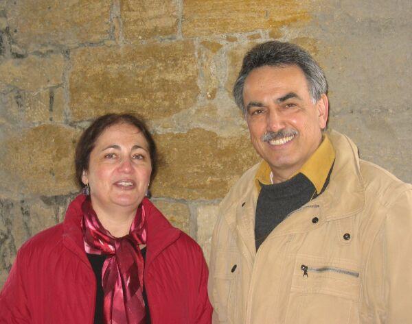 Елена Минкина, Евгений Беркович. Ганновер, май 2006