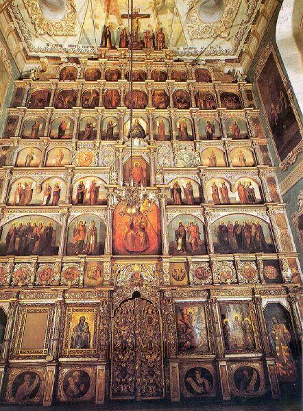 Иконостас в православной