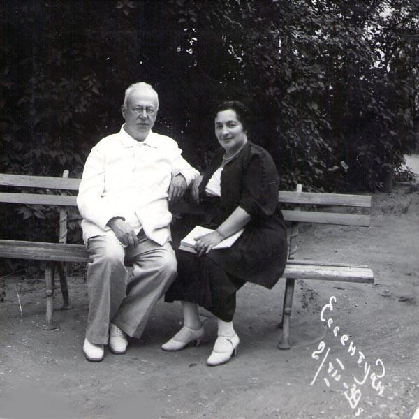 64be9c96635b Соломон Маркович и Мария Григорьевна. Из архива А. Богатырева